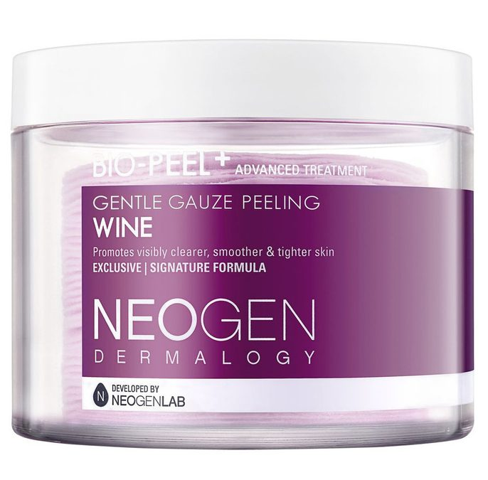 Korean Skincare Routine For Sensitive Skin Neogen Dermalogy Bio Peel Gauze Peeling Wine