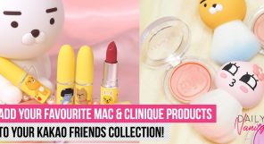 Mac X Kakao Friends Clinique X Kakao Friends