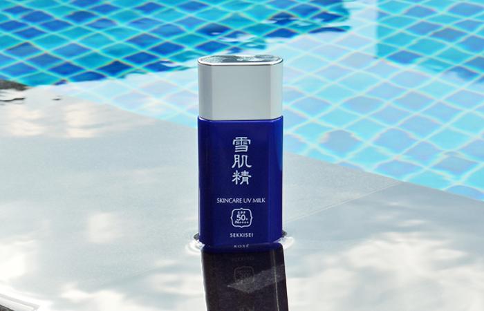 Sekkisei Skincare Uv Milk Review1