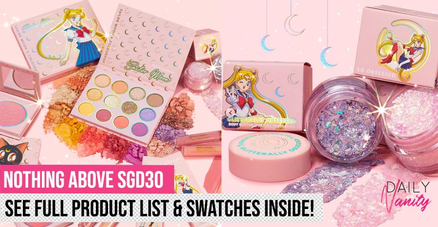 Sailor Moon X Colourpop Featured Image