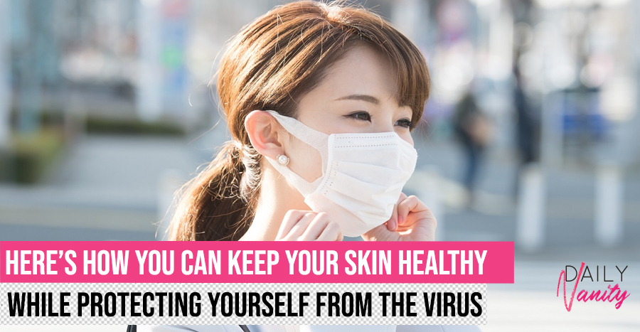 Wearing surgical masks can damage your skin – here's how you can take better care of it