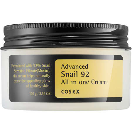 Best Face Moisturiser For Dry Sensitive Skin Cosrx Advanced Snail 92 All In One Cream
