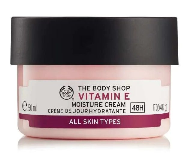 Best Face Moisturiser For Dry Sensitive Skin The Body Shop Vitamin E Moisture Cream