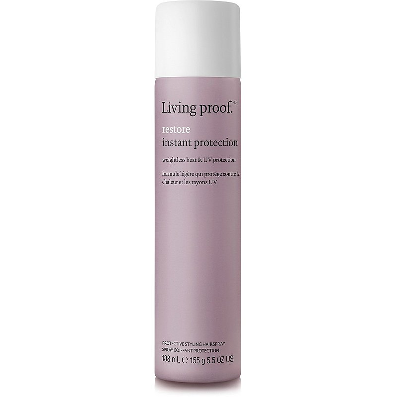Best Heat Protectants For Hair Living Proof Restore Instant Protection Hairspray