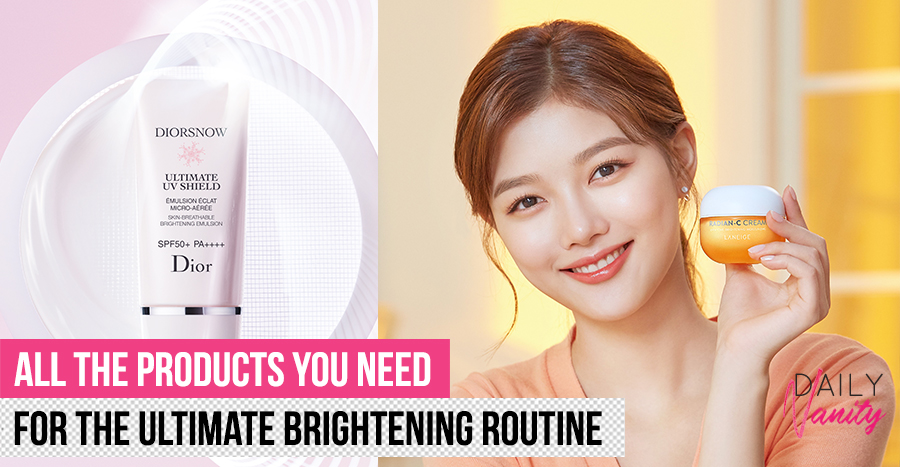 The newest brightening products in 2020 to try if you want to achieve even and glowing complexion