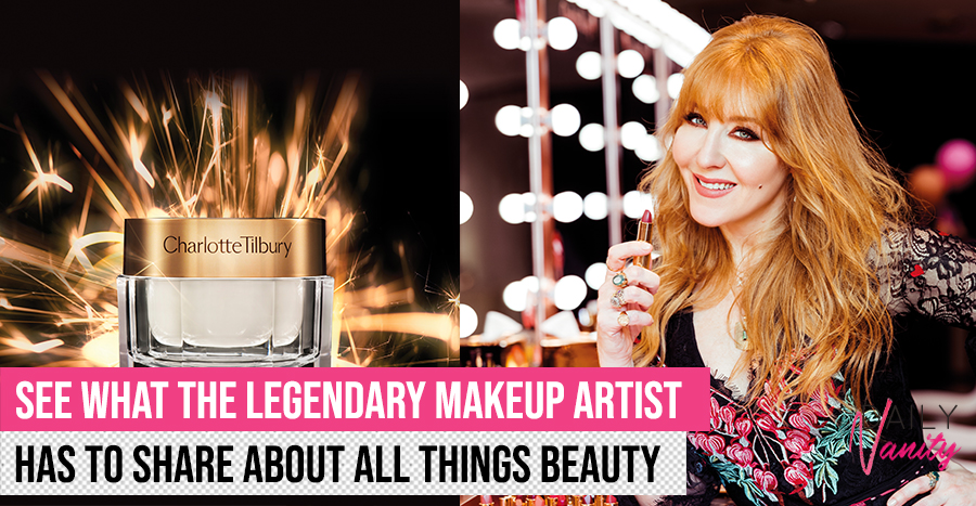 Charlotte Tilbury shares the one beauty product she can't live without, and the special application technique she uses