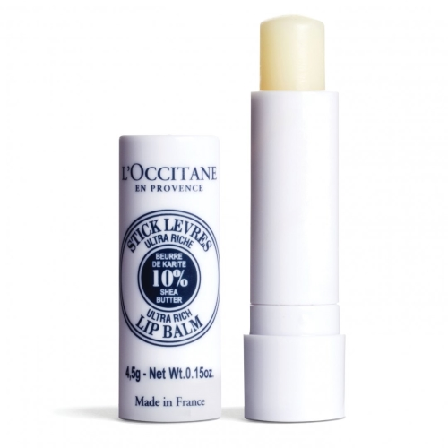 Lip Balm For Sensitive Lips Loccitane Shea Ultra Rich Lip Balm