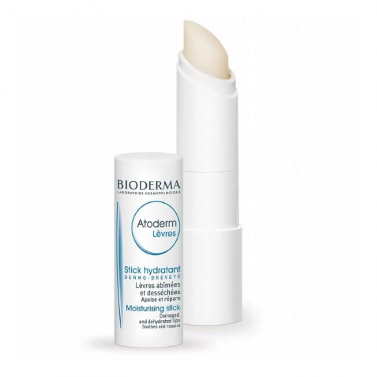 Lip Balm For Sensitive Lips Bioderma Atoderm Levres Moisturising Stick