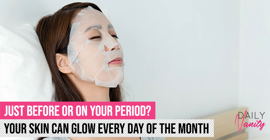 The right mask to use according to your menstrual cycle