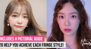 Achieving A Smaller Looking Face With The Help Of Your Fringe Featured