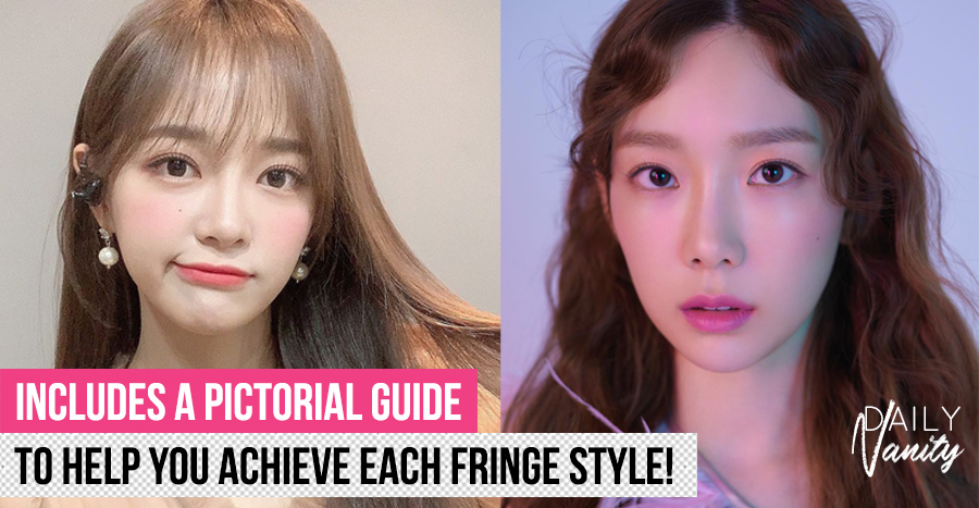Want to get a smaller-looking face? Here's how you can do so with the right styling of your fringe