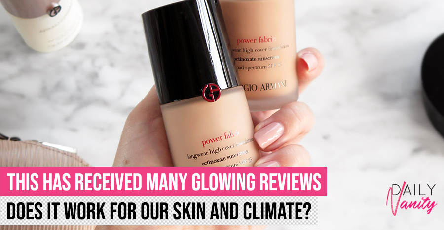 We tested this S$90 liquid foundation that has glowing reviews online to see if it lives up to its hype