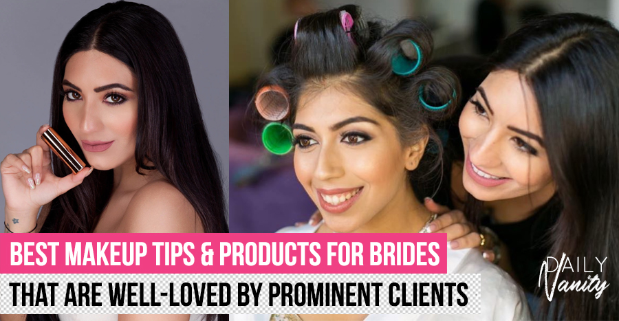 Celebrity MUA Natasha Moor reveals her best makeup tips for brides & those with darker skin tones