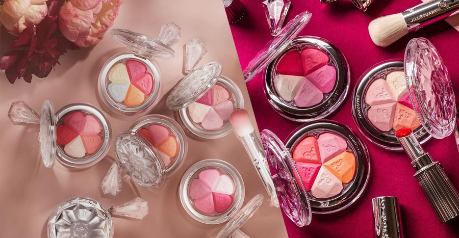 These new blushes are the prettiest ones we've seen in a while and we can't take our eyes off them