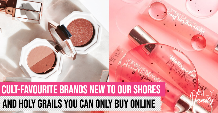 Add these 13 newest online exclusives from Sephora to your shopping cart, 'cos you won't find them in stores!