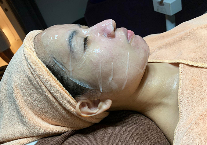 Best Extraction Facial Skin Paradise Peptide Mask