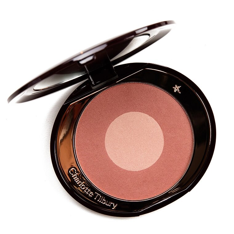 Blushers That Highlight At The Same Time Charlotte Tilbury Cheek To Chic Pillow Talk Intense