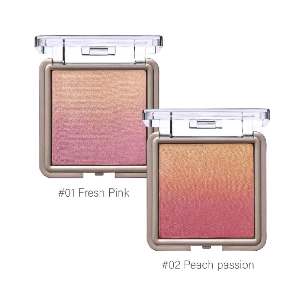 Blushers That Highlight At The Same Time Cute Press Nonstop Ombre Blush