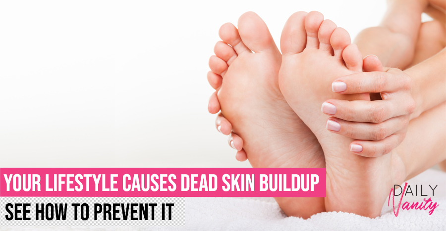 How To Get Rid Of Dead Skin On Foot Featured