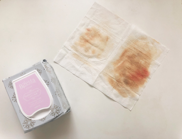 Bifesta Makeup Perfect Clear Makeup Remover Wipes