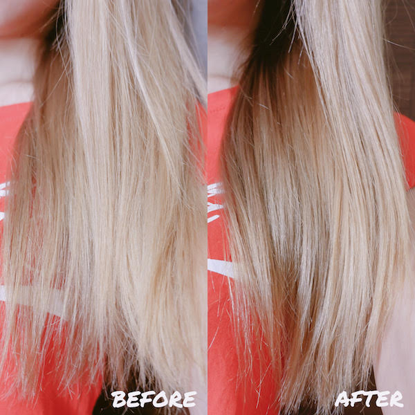 Lucido L Argan Oil Series Before & After