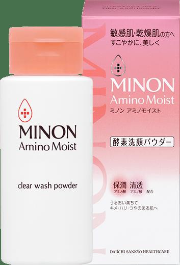 Minon Amino Moist Clear Wash Powder Packshot