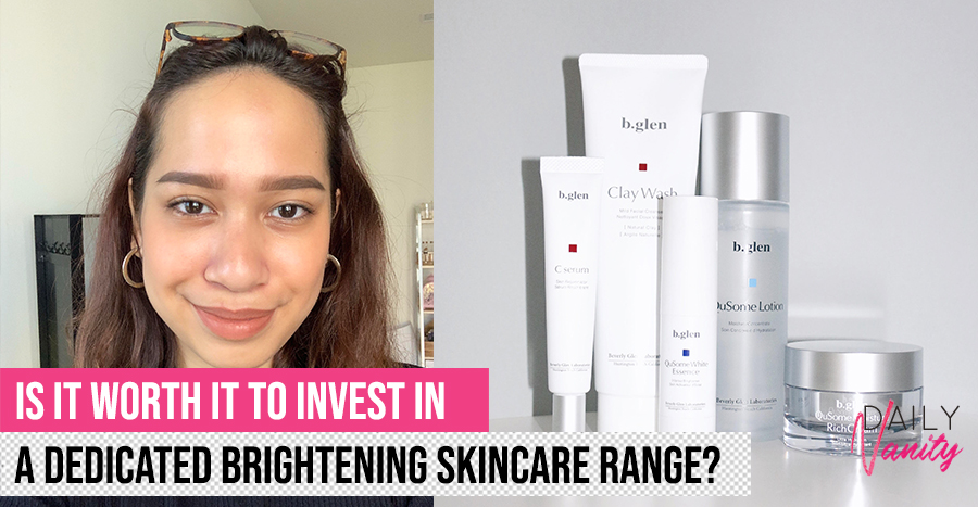 b.glen Brightening Care review: We try out every product in this line to see if our skin really becomes brighter