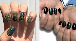 Crocodile Skin Nails