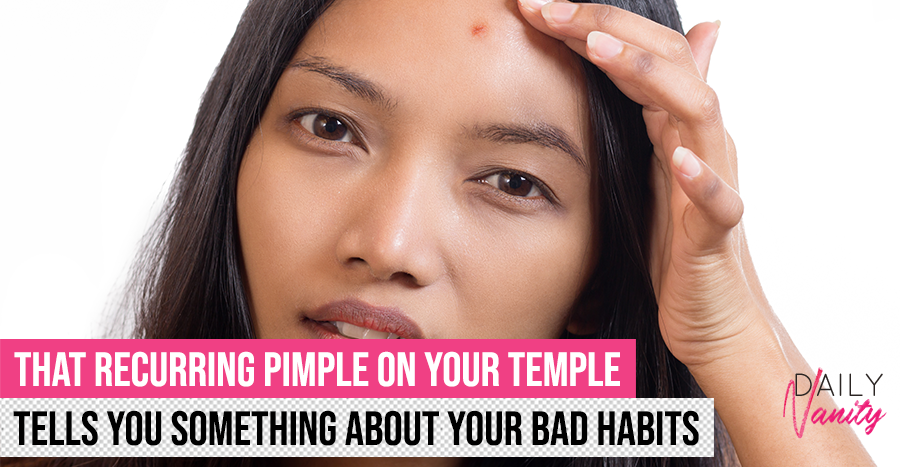 Temple Acne What It Means