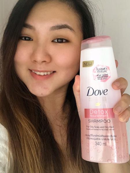 Dove Detox Nourishment Shampoo Review Cheryl Lim