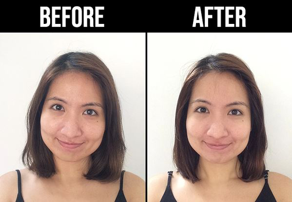 Ellure Tomato Bubble Mask Review Before After