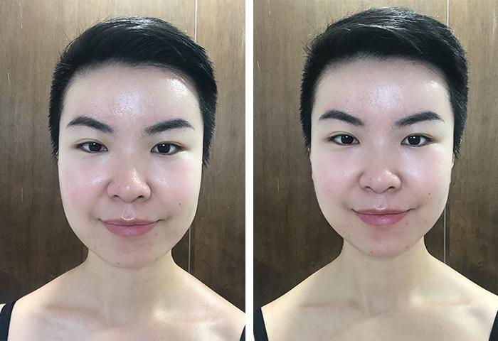 Gua Sha Facial Massage Before After