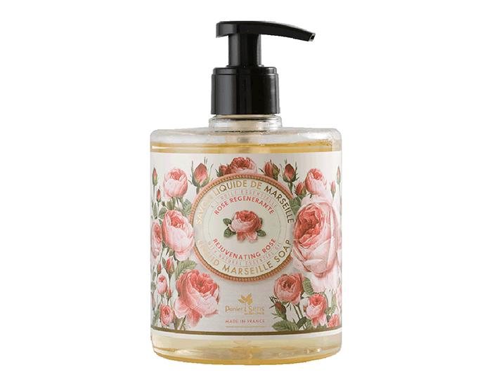 Hand Washes Panier Des Sens The Essentials Rejuvenating Rose Liquid Marseille Soap