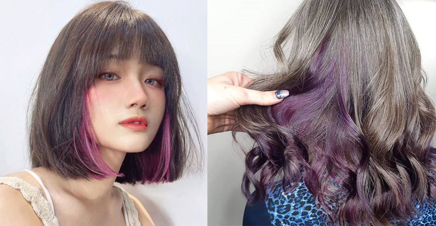 "The ""hidden highlights"" trend is having a big moment and we love that anyone can rock it"