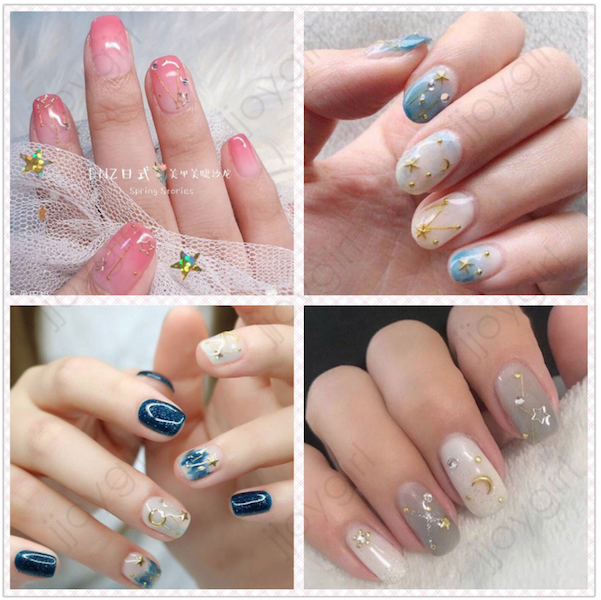 Nail Sticker Shopee