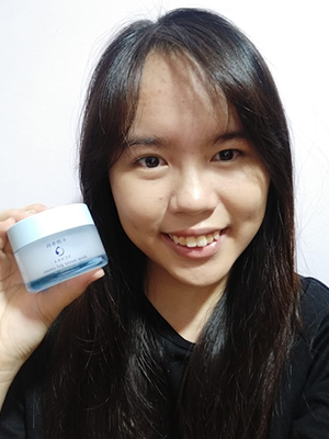 Senka Deep Moist Gel Cream Reviewer Joleen