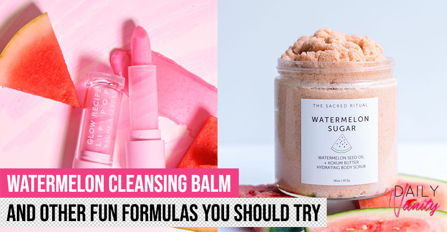 Watermelon-infused products are a thing and here are the ones to try