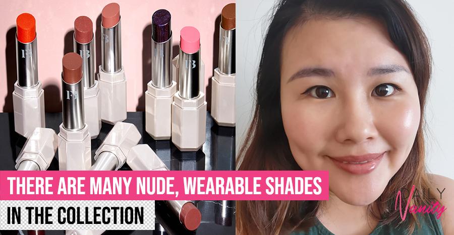 Fenty Beauty Slip Shine Sheer Shiny Lipstick Review Featured