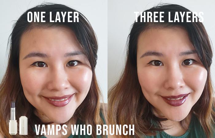 Fenty Beauty Slip Shine Sheer Shiny Lipstick Review Vamps Who Brunch 1