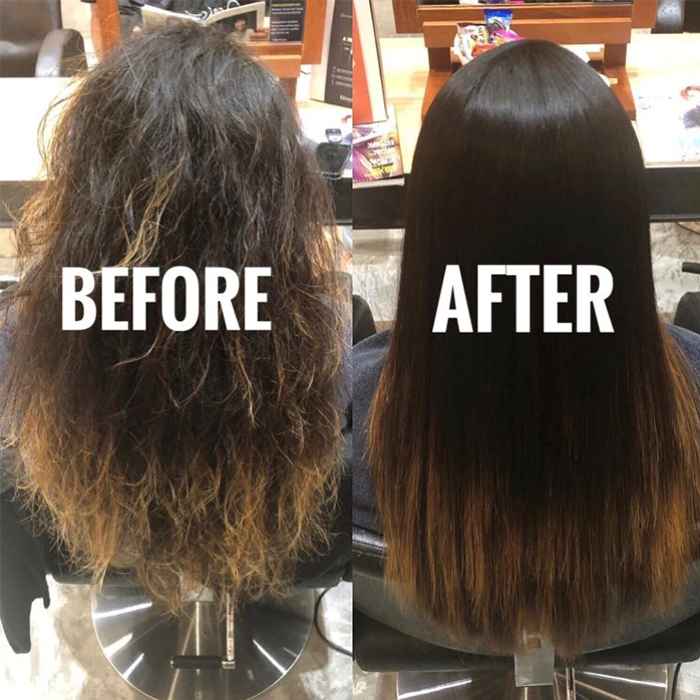 Anti Frizz Hair Treatment Brazilian Blowout Picasso Hair Studio