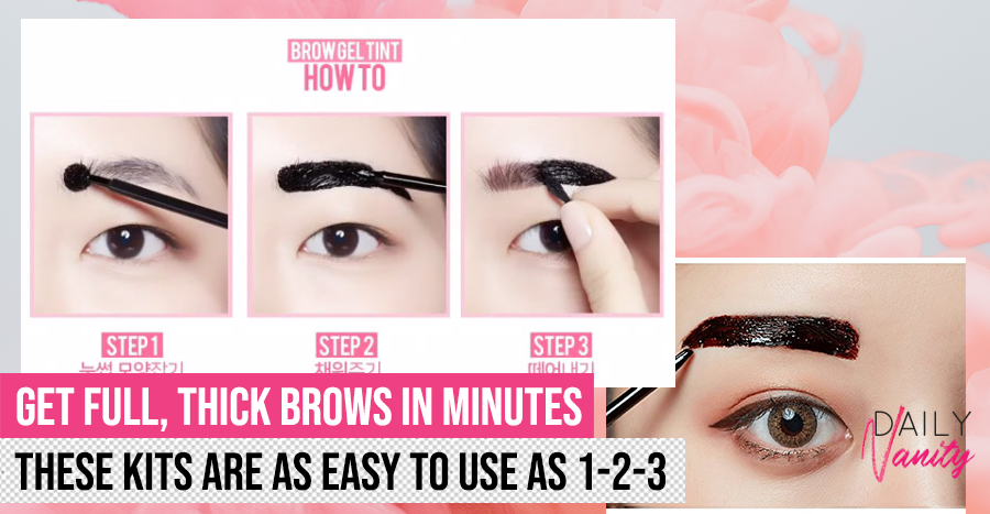 12 best eyebrow tinting kits to try before brow services are available again