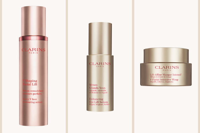 Clarins V Shaping Range Products