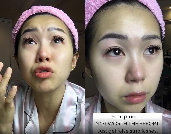 Diy Eyelash Extensions After Final