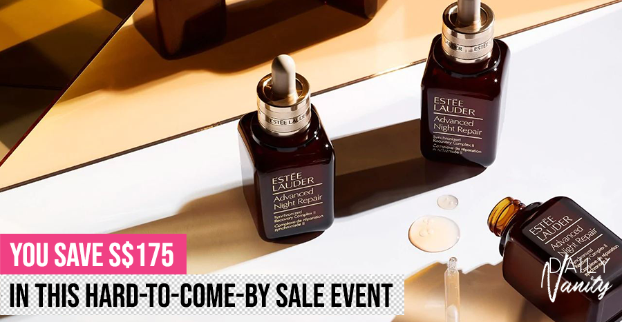 Estee Lauder is offering 2 Advanced Night Repair Serum at the price of 1
