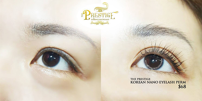 Eyelash Extension Salon Prestige Example 1