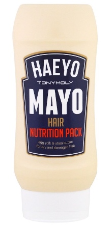 Food Inspired Cosmetic Mayo Hair Pack