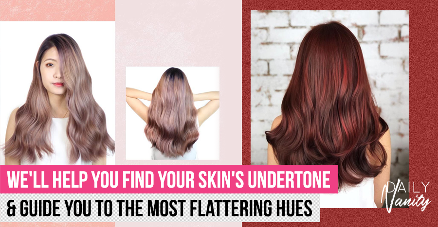 "Hair colours that will flatter your skin tone and ""pop"" in your video calls"