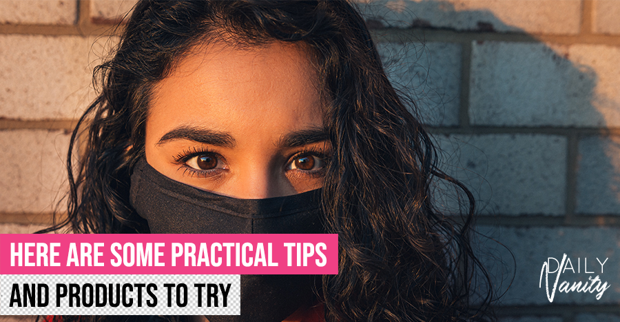 Makeup smudging under your mask? Here are 5 simple ways to make it stay all day!