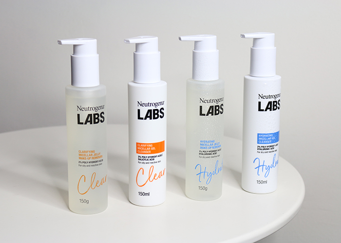 Neutrogena Labs 2 Group Shot Cleansers