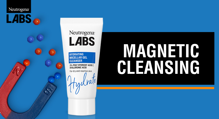 Sign up for Neutrogena LABS Hydrating Micellar Gel Cleanser here!